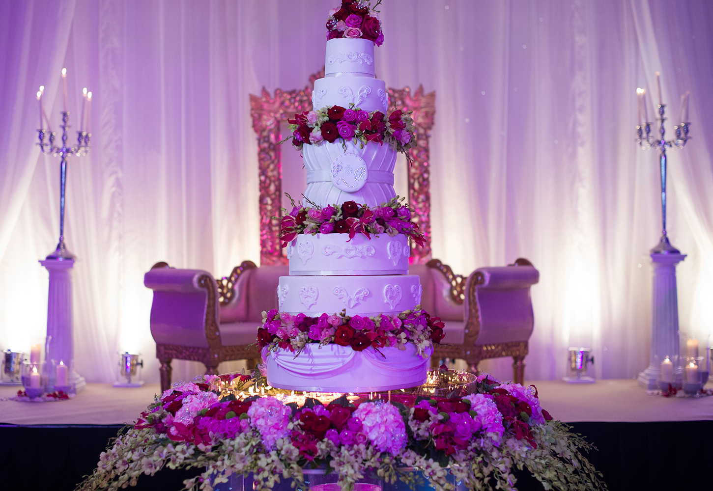 luxury asian indian wedding cakes in london | sweet hollywood