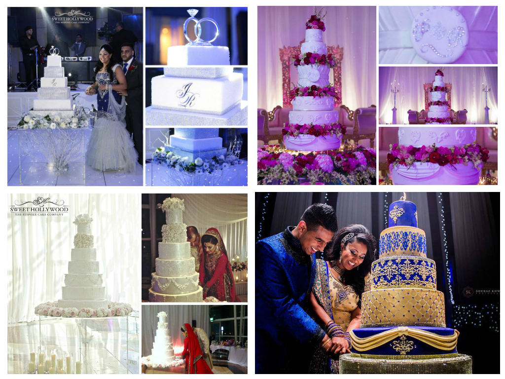 Eggless Wedding Cakes London By Sweet Hollywood