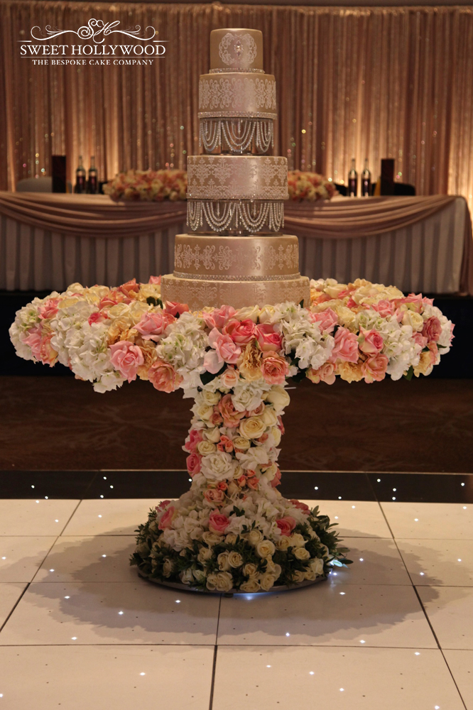Luxury Asian Wedding Cake In London By Sweet Hollywood Sweet Hollywood