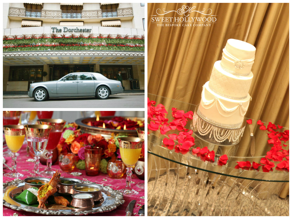 Luxury Eggless Wedding Cake The Dorchester London