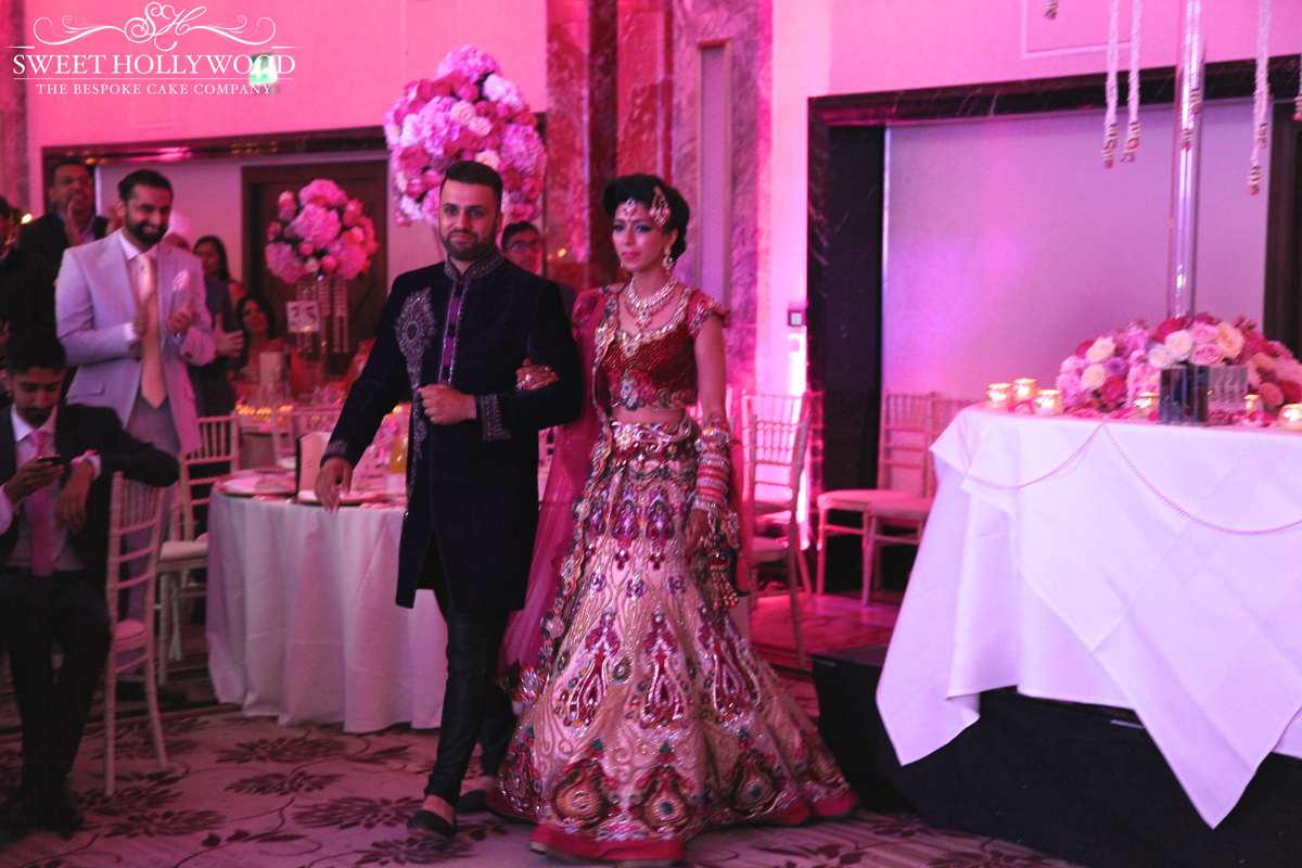 Reception Asian Wedding Lancaster Hotel London