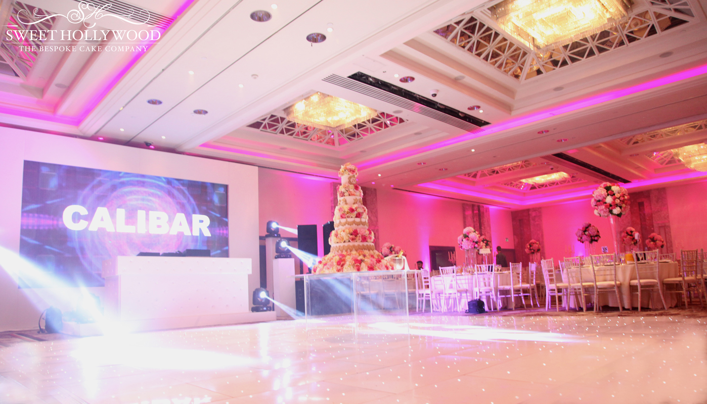 Grand Angelic Luxury Wedding Cake Lancaster London