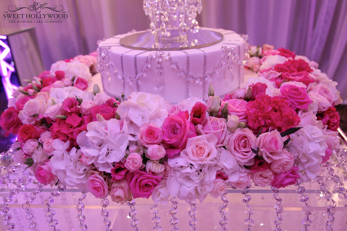 Glamorous South Indian Wedding Cake The Langham London