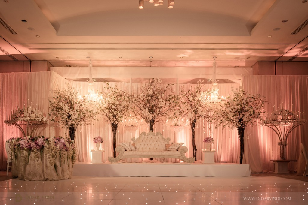 Luxury eggless wedding cake the grove guests did not for Asian wedding stage decoration london