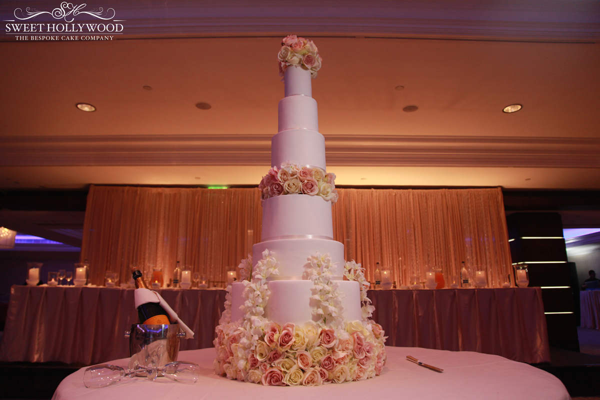 Luxury Wedding Cake Intercontinental Park Lane