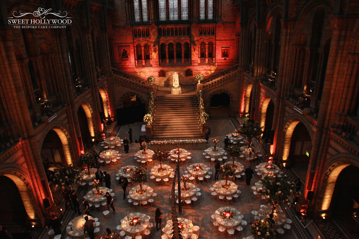 Grand Wedding Cake The Natural History Museum London