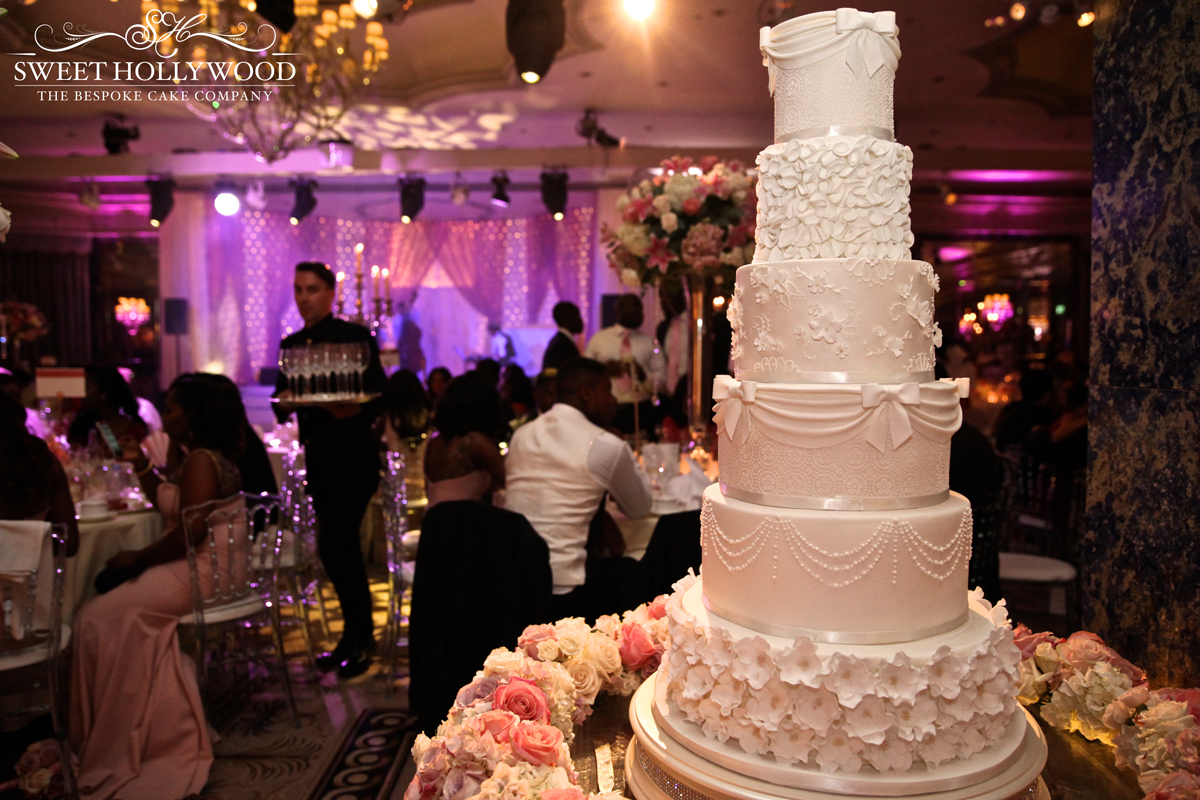 Glamorous Nigerian Wedding Cake The Dorchester London