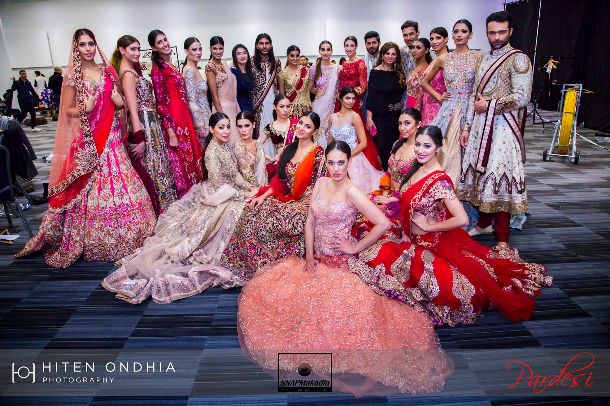 Models At The National Asian Wedding Show