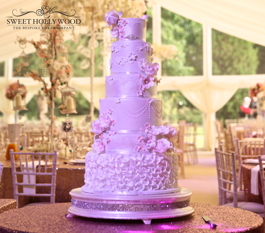 Botanical Bloom Luxury Wedding Cake Ragley Hall