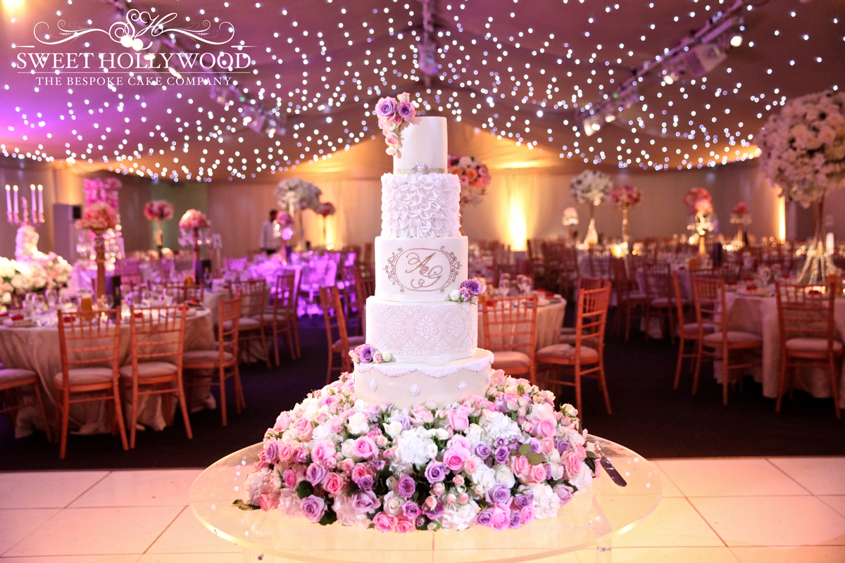 Sweet Hollywood Luxury Wedding Cakes London