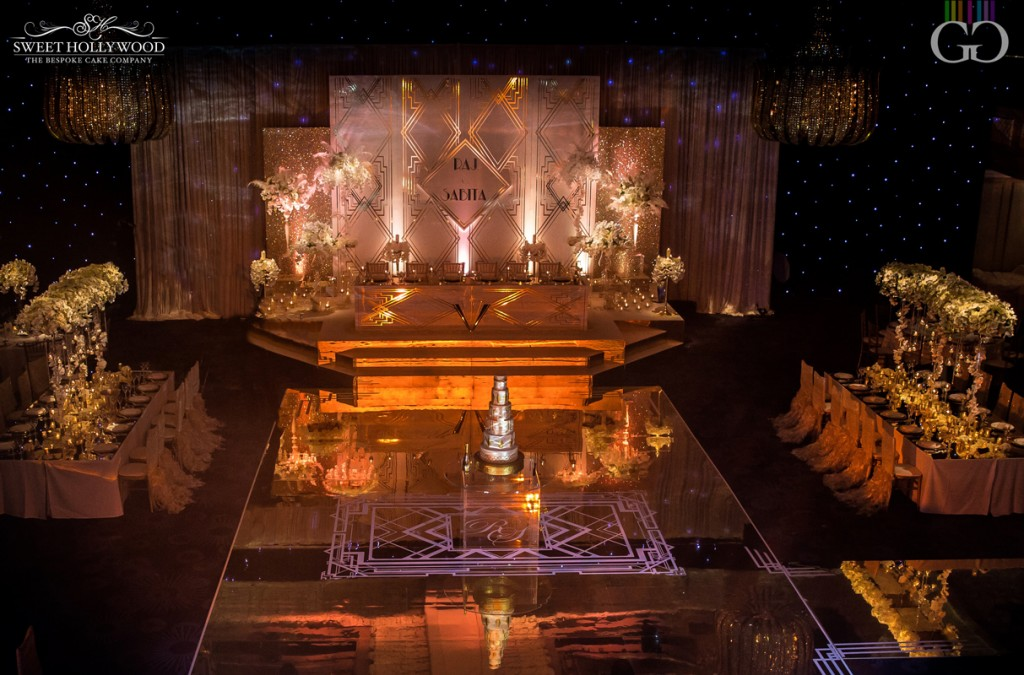 The Great Gatsby Wedding Of Your Dreams Grosvenor House London