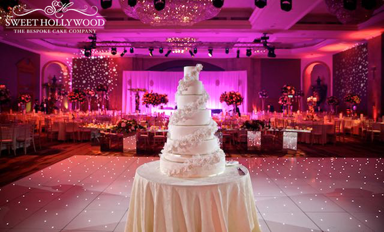 Grand Wedding Cake Hilton Park Lane London