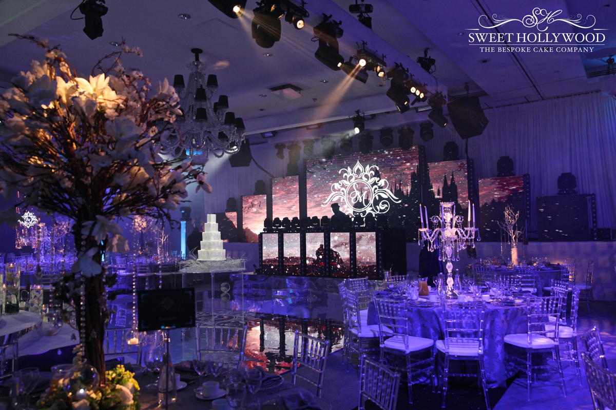 Unique harry potter wedding reception hilton syon park for Asian wedding decoration
